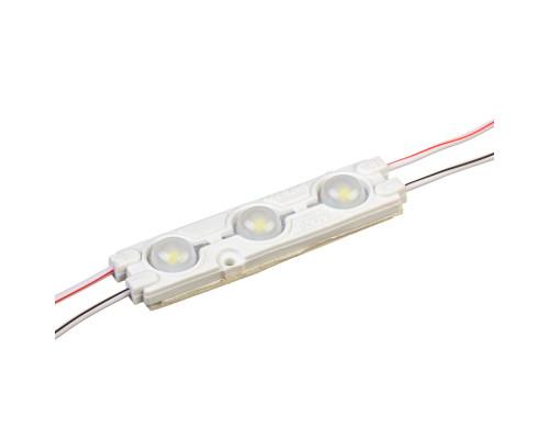 Модуль 12V белый холодный 3led smd5730 1.5Вт IP65