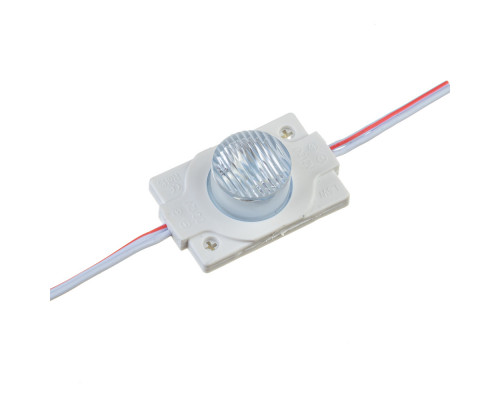 Модуль инжекторный светодиодный белый 12в smd3030 1LED 1.5Вт герметичный