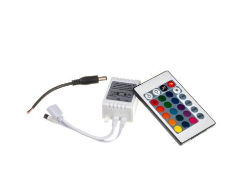 Контроллер RGB 12А 144 Вт (IR 24 кнопки)