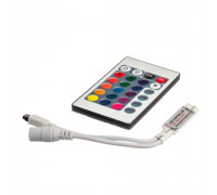 Контроллер RGB мини 6А 72 Вт (IR 24 кнопки)