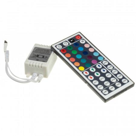 Купить Контроллер RGB 12А 144 Вт, (IR 44 кнопки)