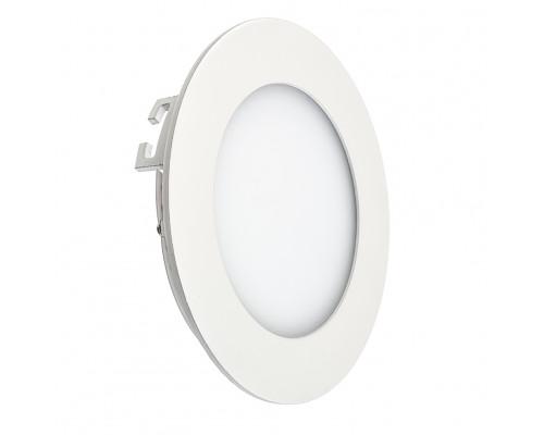 Led светильник точечный 3Вт 4000К круглый IP20
