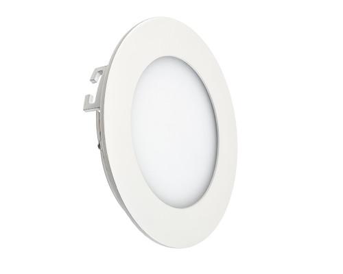 Led светильник точечный 6Вт 4000К круглый IP20
