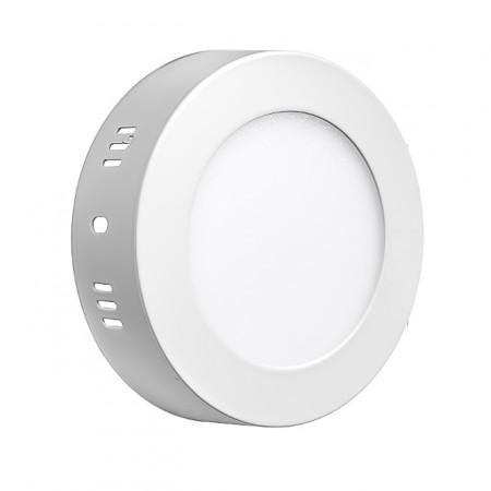 Купить Led светильник накладной 12Вт 4000К круглый IP20