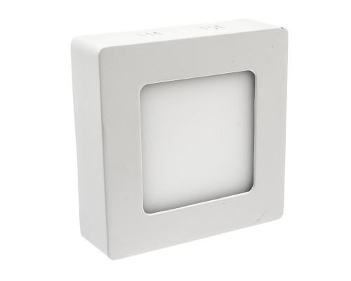 Led светильник накладной 6Вт 4000К квадратный IP20