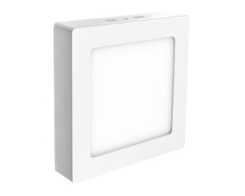 Led светильник накладной (Премиум) 18Вт 4000К квадратный IP20