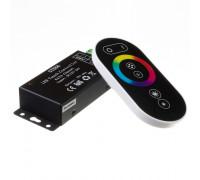 Контроллер черный RGB 18А 216 Вт, (6 кнопок)