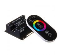 RGB контроллер 18 А 12 Вт черный (Radio 6 кнопок)