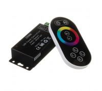 Контроллер черный RGB 18А 216 Вт, (8 кнопок)