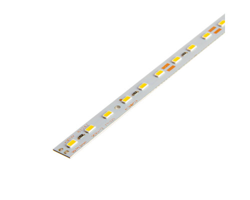 Led линейка 12В (скотч) теплая белая smd5530 18Вт IP20 100 см