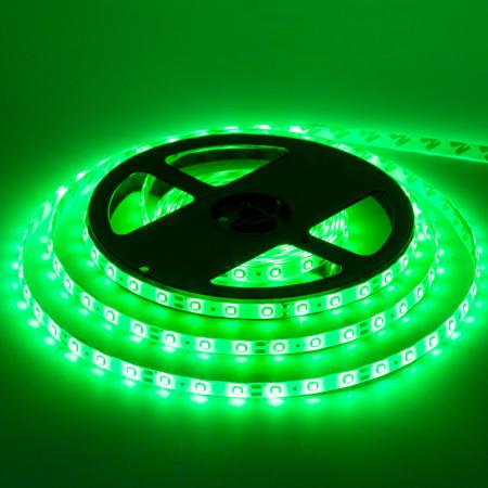 Купить Led лента 12В зеленая smd283560LED/m IP20, 1м