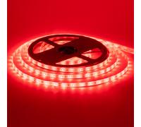 Led лента 12В красная smd2835 60LED/m IP20, 1м
