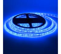 Led лента 12В синяя smd2835 120LED/m IP20, 1м