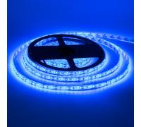 Led лента 12В синяя smd2835 120LED/m IP65, 1м
