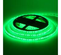 Led лента 12В зеленая smd2835 120LED/m IP20, 1м