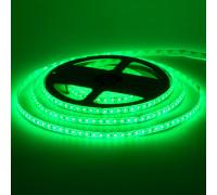 Led лента 12В зеленая smd2835 120LED/m IP65, 1м