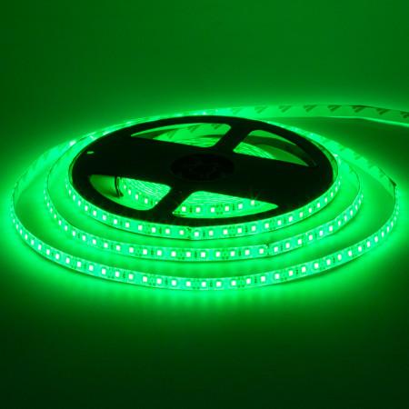 Купить Led лента 12В зеленая smd2835 120LED/m IP65, 1м