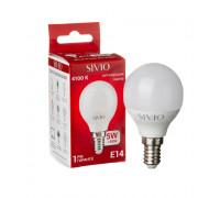 Led лампа Sivio 5Вт G45 нейтральная белая E14 4100K