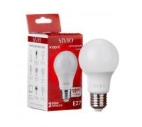 Led лампа Sivio 10Вт А60 нейтральная белая E27 4100K