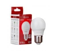 Led лампа Sivio 10Вт G45 нейтральная белая E27 4100K