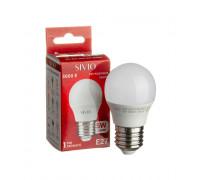 Led лампа Sivio 5Вт G45 теплая белая E27 3000K
