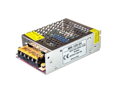 Led блок 24В MN/5A 120 Bт IP 20
