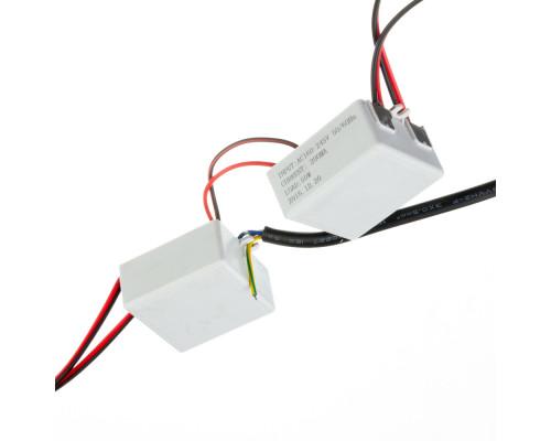 Драйвер для светодиодов 2х50W 3000mA 110V