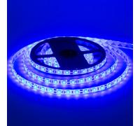 Led лента 12В синяя smd5050 60LED/m IP20, 1м