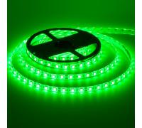 Led лента 12В зеленая smd5050 60LED/m IP20, 1м