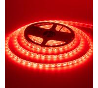 Led лента 12В красная smd5050 60LED/m IP65, 1м