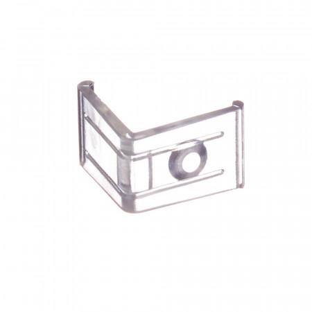Купить Крепеж угловой пластиковый Пф-8 для алюминиевого профиля
