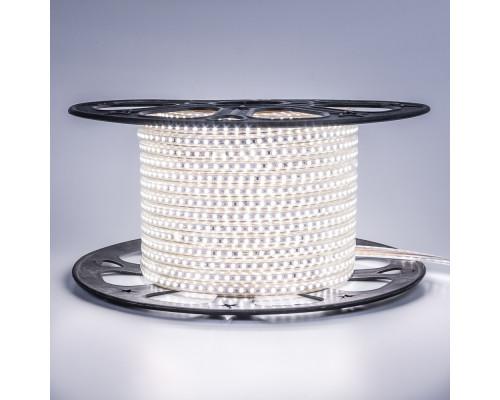 Led лента 220В белая AVT smd2835 120LED/m 4W IP65 , 1м