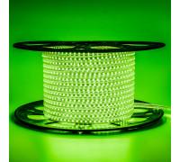 Led лента 220В зеленая AVT smd2835 120LED/m 4W IP65 , 1м