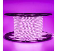 Led лента 220В розовая AVT smd2835 120LED/m 4W IP65 , 1м