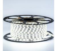 Led лента 220В нейтральная белая smd3014 120LED/m 5,5W IP65 , 1м