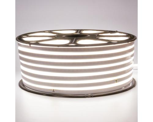 Led неон 220В белый smd2835 120LED/m 12W IP65 , 1м