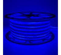 Led неон 220В синий smd2835 120LED/m 12W IP65 , 1м