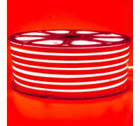 Led неон 220В красный smd2835 120LED/m 12W IP65 , 1м