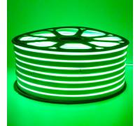 Led неон 220В зеленый smd2835 120LED/m 12W IP65 , 1м