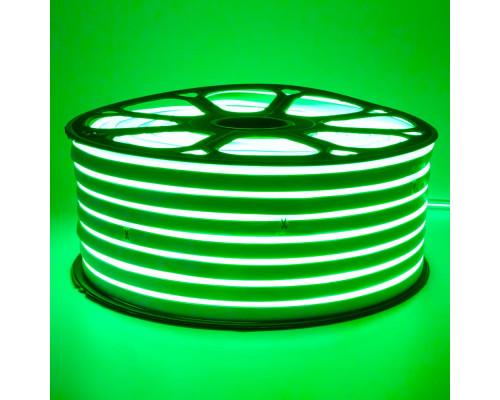 Led неон 220В зеленый smd2835 120LED/m 12W IP65