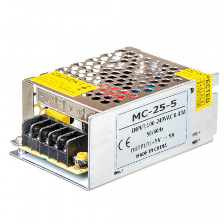 Купить Led блок 5В MС/5A 25 Bт IP 20