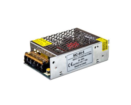 Led блок 5 В MС/10A 60 Bт IP 20