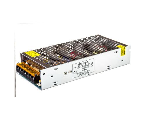Led блок 5В MС/30A 150 Bт IP 20