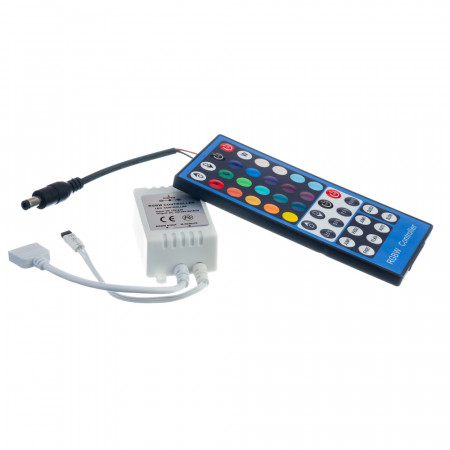 Купить Контроллер RGBW 8А 96 Вт, (IR 40 кнопок)