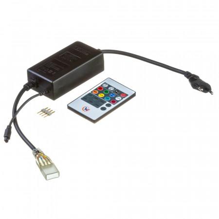 Купить Адаптер питания для Led лент 220В Multi-Color smd2835-180 + пульт + контоллер + 4pin