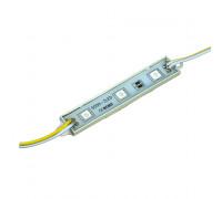 Модуль МТК 12V жёлтый 3led smd5050 0.72Вт IP65