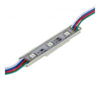 Модуль МТК 12V RGB 3led smd5050 0.72Вт IP65