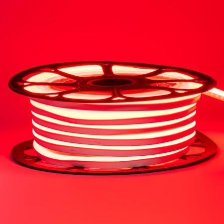 Купить Led неон 220В красный AVT-1 smd2835 120LED/m 7W IP65 , 1м