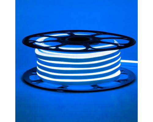 Led неон 220В синий AVT-1 smd2835 120LED/m 7W IP65 , 1м