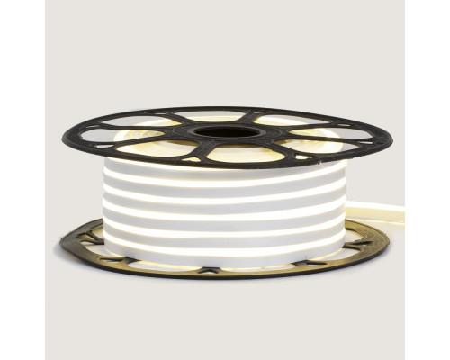 Led неон 12В белый 6х12 AVT smd2835 120LED/m 6W IP65 силикон, 1м